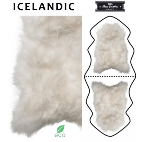 Valkoinen lampaantalja 200 cm, Icelandic